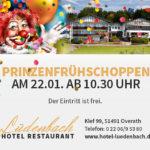 Prinzenfrühschoppen 2017 – Jecke bei den Lüdi's
