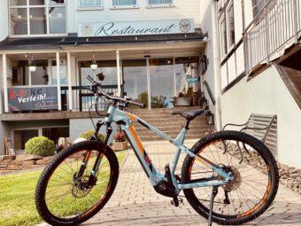 E Bike Verleih Overath Hotel Restaurant Luedenbach