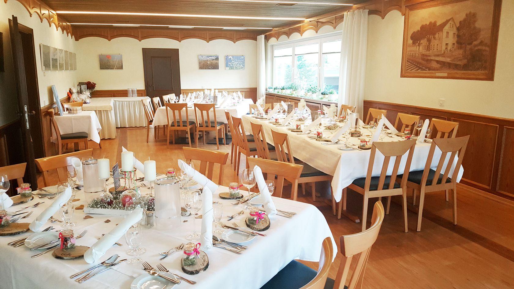 Heiraten im Hotel Restaurant Lüdenbach