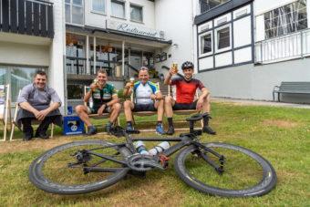 Hotel Luedenbach Restaurant Biergarten Bergische Land Oberberg Rennrad Fahren Tour