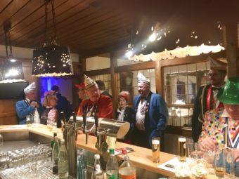 Karneval Overath Prinzenfruehschoppen 2019 Luedenbach Restaurant Hotel 6