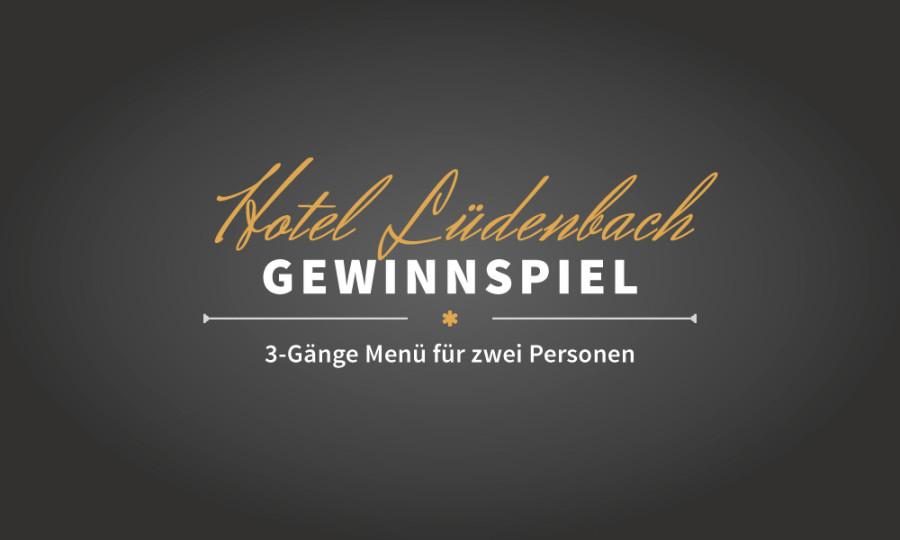 Gewinnspiel: 3-Gänge Menü für zwei Personen im Wert von 54€