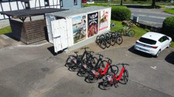 Luedenbach Fahrrad Verleih Ebike Trekking Raeder Overath Hotel Restaurant