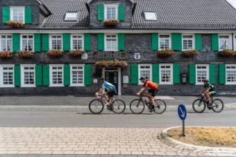 Rennrad Fahren Bergisches Land Luedenbach Restaurant Hotel Rennrad Tour Oberberg 8