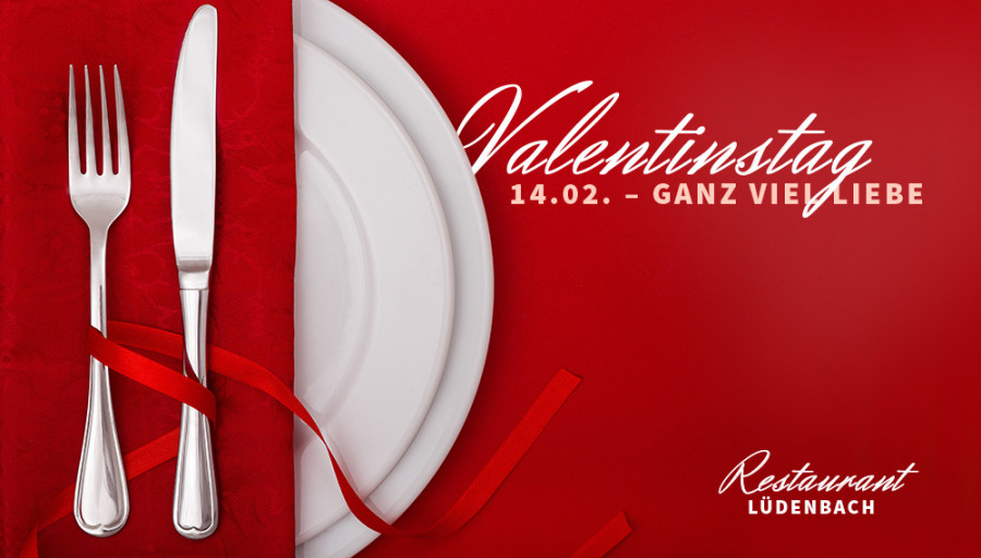 Valentinstag im Restaurant Lüdenbach