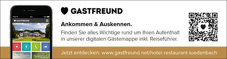 Wlan Gastfreund Hotel Restaurant Luedenbach Overath